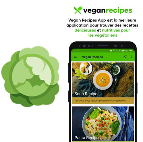 Applications digitales sur le Vegan - Nutractiv